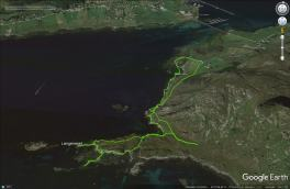 Our Bergsøya tracks