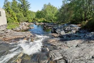 In the Øyraelvi river