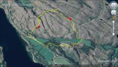 Our route across Vikerfjellet