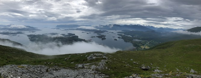 View from Øyrahornet