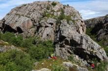 Rugged terrain on Vikerfjellet