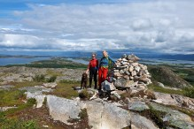 On Vikerfjellet high point