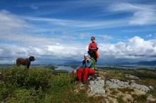 On top of Einvolltinden