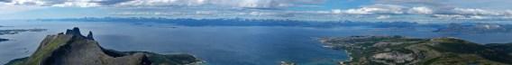 Lofoten view from Hatten