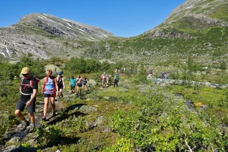 Towards Haugastøylen