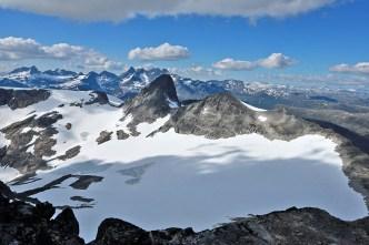 Stølsnostinden - on the other side of the glacier
