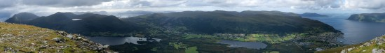 Panorama (2/2) from the top