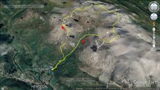 The 24,7km hike