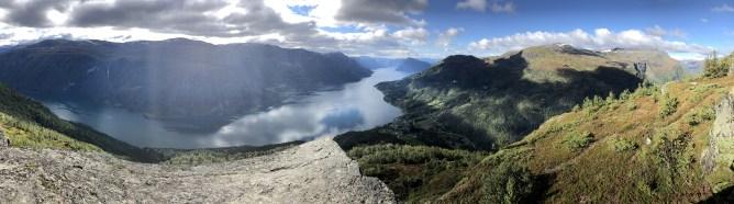 View from Børesteinen