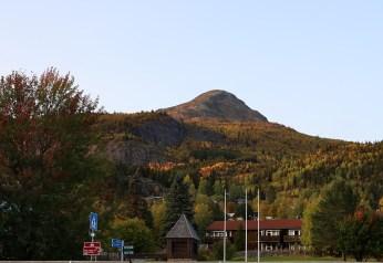 Kyrkjebønøse seen from the hotel