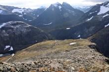 Descending Saurdalsnibba