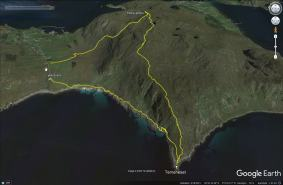 Our route across Storevarden