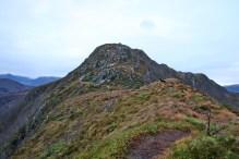 On the ridge to Vasshornet