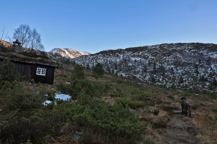 In Osdalen, aiming for Dinglavatnet