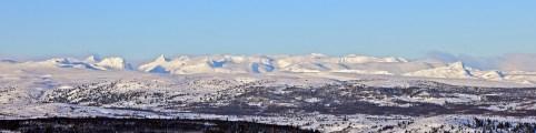 Jotunheimen peaks. Falketind to the left