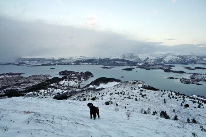 Descending Skåla