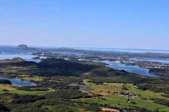 View towards Brønnøysund