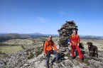 On top of Raudsjøpiggen