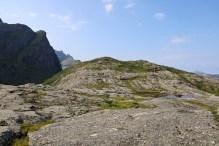 The top of Sperstadåsen ahead