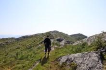 On the Gjerdøyfjellet ridge