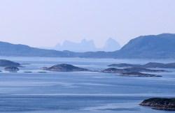 The Træna peaks