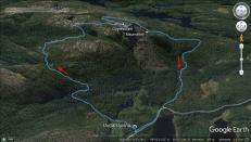 Our route across Gygrestolen