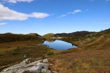 Back on the Lifjell massif