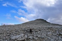 The summit is in view