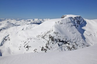 Eidskyrkja - I skied up there the next day