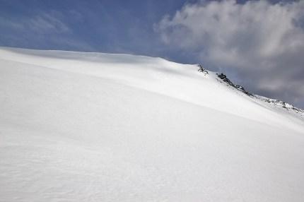 Pushing it hard to ensure good snow