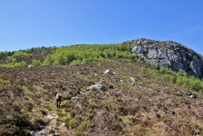 On the way to Hovden
