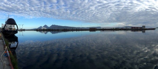 Sandnessjøen, early morning