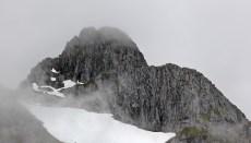 Zoom-in on Mannen summit