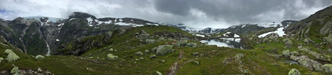 View from Lundaskaret