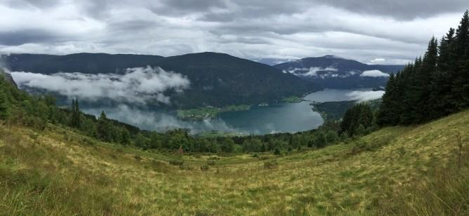 Barsnesfjorden view