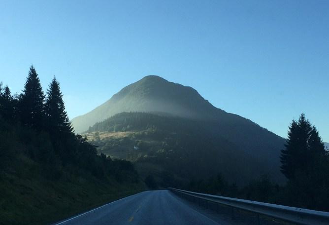 Lidaveten with a veil of fog