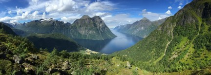 Magnificent fjord view!