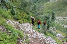 Sherpa work