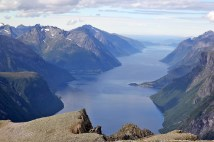 Hjørundfjord view