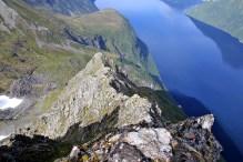 The ridge from Utolhornet