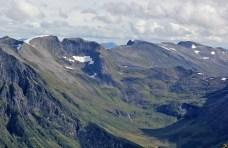 Skjerdingane and Sætredalsfjellet