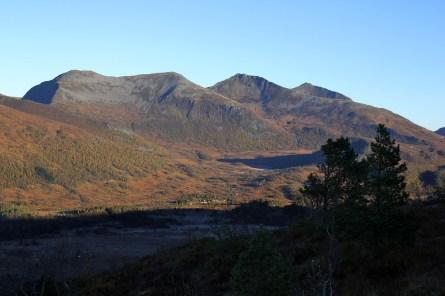 View towards Bjørnen and Luten