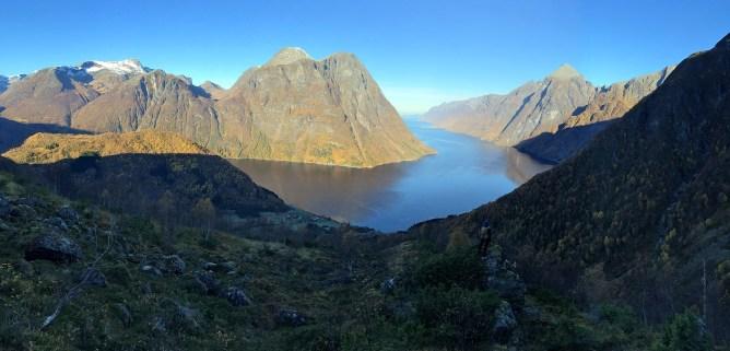 Hjørundfjorden view
