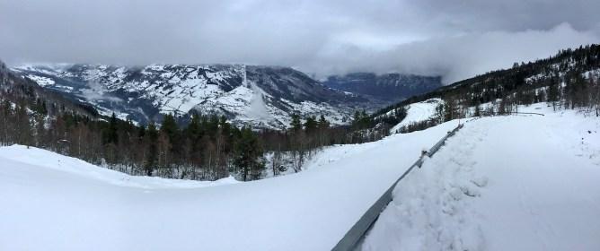 View towards Sogndal