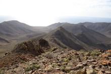 On the ridge towards Morro del Cencerro