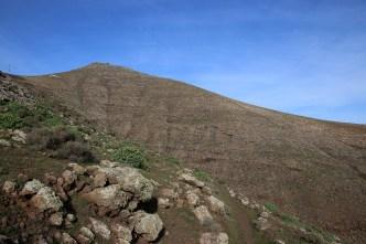 Aiming for the east ridge