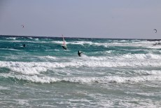 Paradise for kiters and surfers