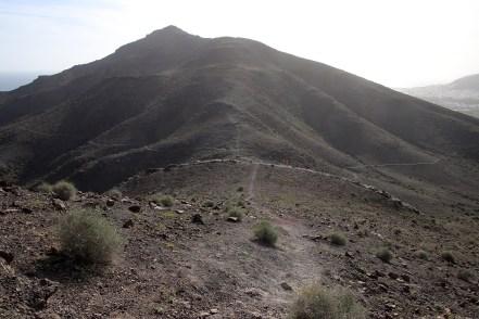 On the ridge between Las Playitas and Gran Tarajal