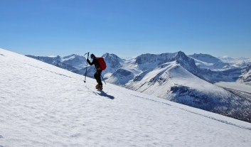 Petter, aiming for the summit