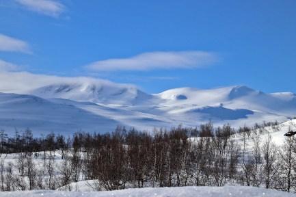 Skridulaupen - our goal for the day